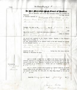 Probate Letter